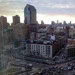 Looking SW from 1606 to the Holland Tunnel approach