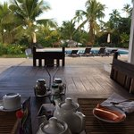 breakfast served every AM by the pool!
