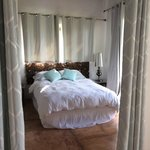 bedroom in cabana--looks exactly like on their site
