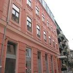 Jolie façade rose