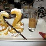 Choux pastry Swan desert!