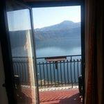 Vista lago da camera hotel Castel Gandolfo