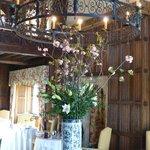 Dining room centrepiece