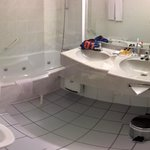 A panoramic stitch of the bath room