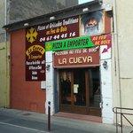 """Devanture du restaurant """"La Cueva"""""""
