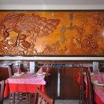 decorato da artisti orientali