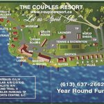 Map of resort and property