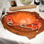 Whole Steamed Mangrove Crab