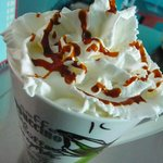 Cappuccino Caramel with wip crem