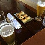 Jetty lounge snacks