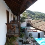 Rooms' balconies - magnificent view to the montains