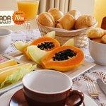 Café da Manhã Servido no Quarto
