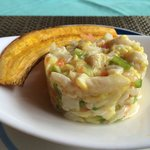 Dorado Ceviche. AMAZING! So simple, so light and fresh. Done in a very simple way, but the flavo