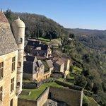 Beynac visto desde el castillo