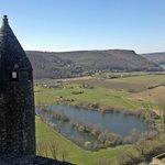Río Dordogne visto desde el castillo