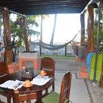 Deck Area & Breakfast Table
