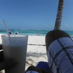 Sipping on a pina colada on the beach. bliss! :o) The Beachboys will bring these to you!