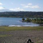 Lago em Villarrica
