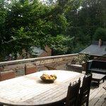 Une terrasse en bois de 25m²