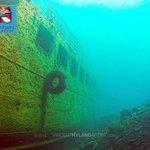 Wreck dive at Nea Kameni