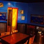 Inside Tikiyaki very clean nice sit down place to eat