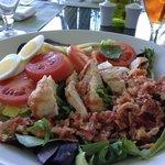 Fresh, fabulous Cobb salad