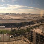 Panoramic view from Executive Lounge - Executive rooms to the left