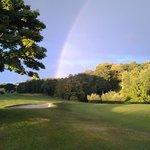 18th green rainbow