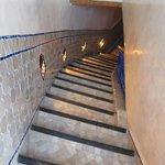 Escaliers entre 1er étage et terrasse
