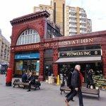 Estação de Metro muito próxima ao Hotel!!!