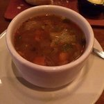 great minestrone soup...lots of veggies