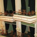 Brown Grand Box Seats