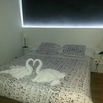 Dormitorio de la suit