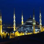 """La mosquée bleue """"encore"""" avant de s'endormir"""