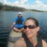 Canoing at Coba