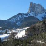 Vue sur le Mont-Aiguille