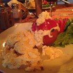 Delicious vegetarian rocoto relleno