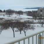 Little Traverse bay from our balcony