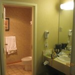 big bathroom area