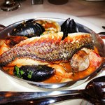seafood cassoulet is soooo good at plato's restaurant