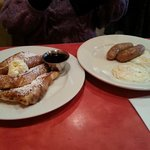 French Toast, Eggs, Sausage Links