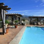 Rooftop Terrace Pool Area