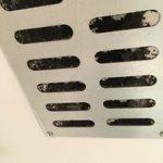 Filth in the bathroom ventilator