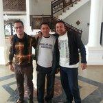 HamaDa, Hedel & Mostafa - fantastic staff :-) (Sarah & Steven) March 2014