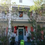 The Old Carrabelle Hotel decked out for Christmas