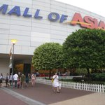 mall front. where tourists love to have picture-taking
