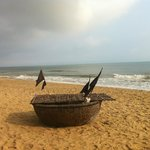 A boat of the local fisherman