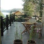 terraza para lectura o desayuno