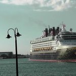 Disney Magic leaving Port Canaveral