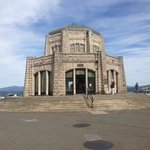 Vista House on Historic Columbia River Highway